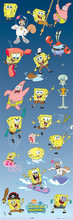 SPONGEBOB - multiple Poster, Art Print