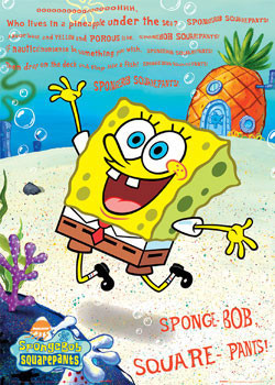 SPONGEBOB - Song Poster