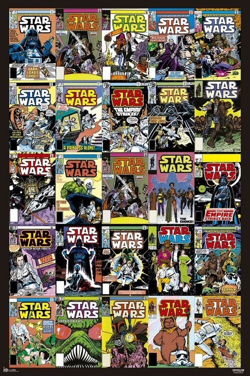 Poster Star Wars - Covers