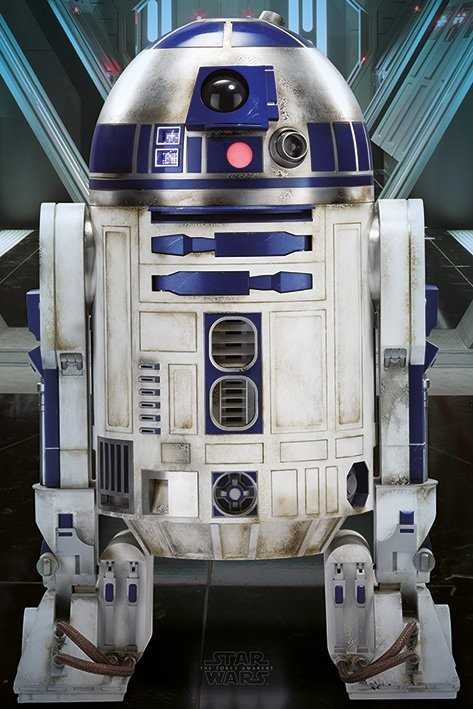 Poster Star Wars Episode VII - R2-D2