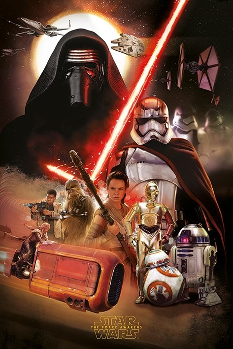 Poster  Star Wars Episode VII: The Force Awakens - Montage
