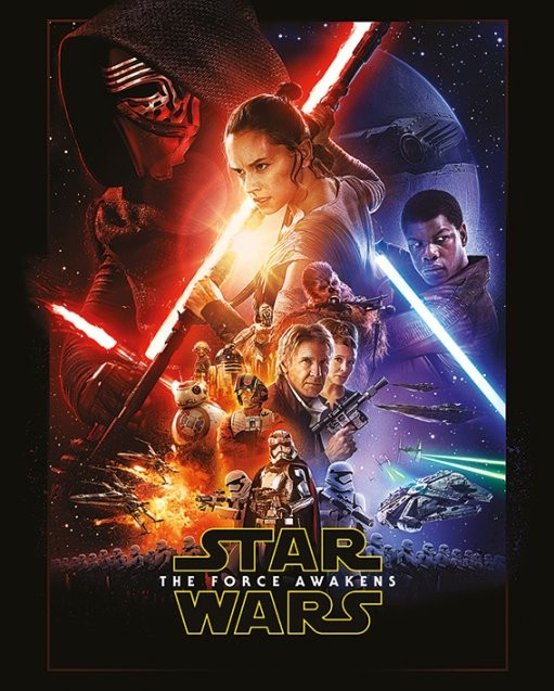 Poster Star Wars Episode VII: The Force Awakens - One Sheet