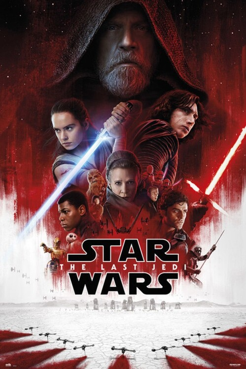 Poster Star Wars: Episode VIII - The Last Jedi - One Sheet