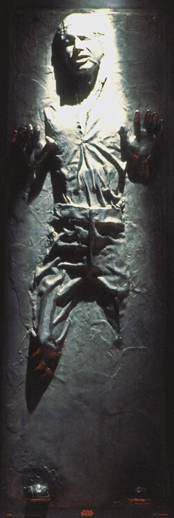 Poster Star Wars - Han Solo in Carbonite