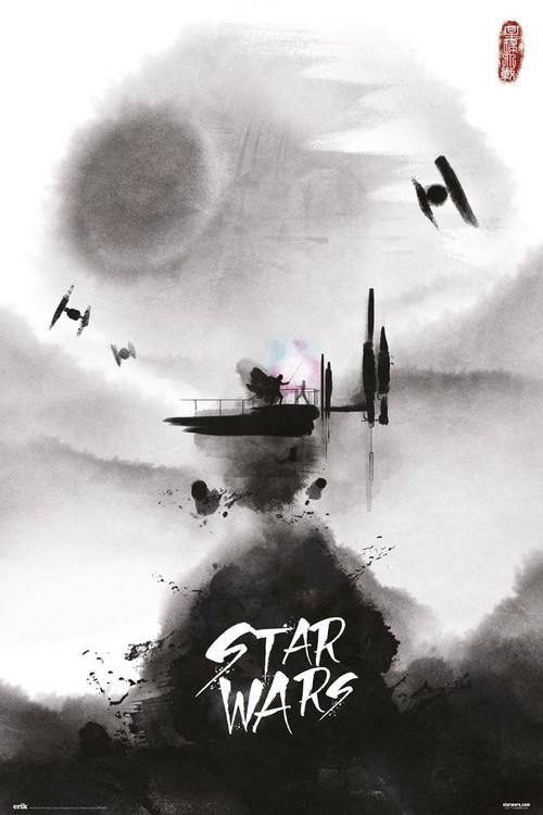 Star Wars - Ink Poster