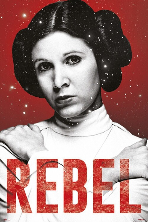 Poster Star Wars - Leia
