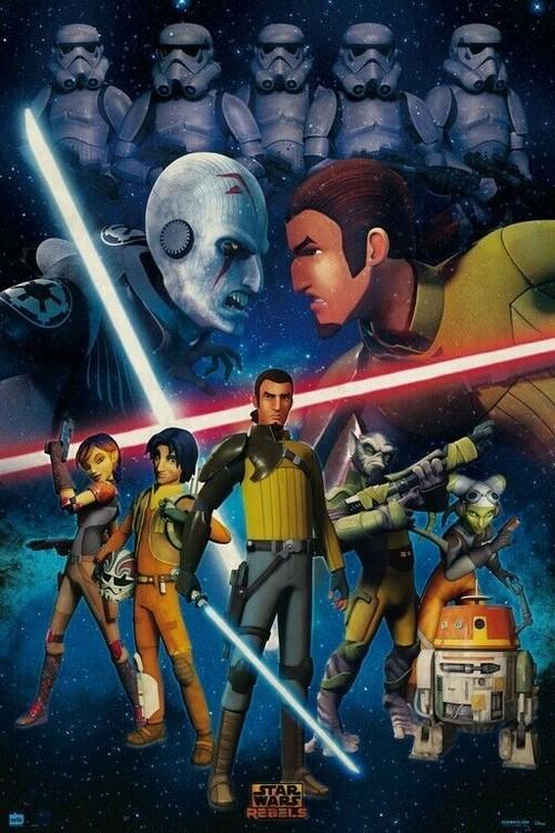 Poster Star Wars - Rebels