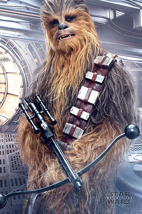 Star Wars The Last Jedi - Chewbacca Bowcaster Poster