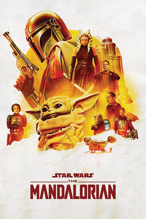 Poster Star Wars: The Mandalorian - Adventure