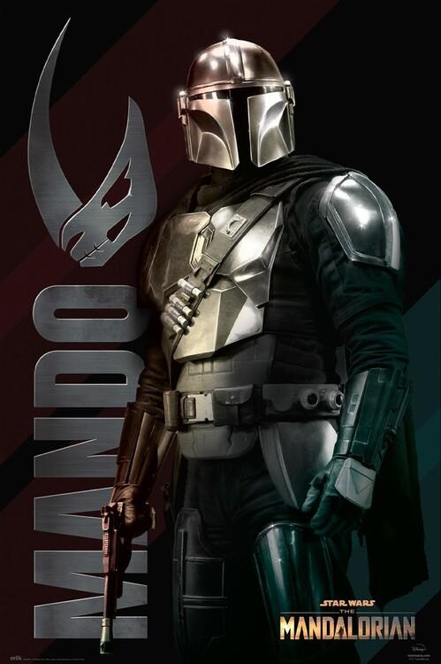 Poster Star Wars: The Mandalorian - Mando