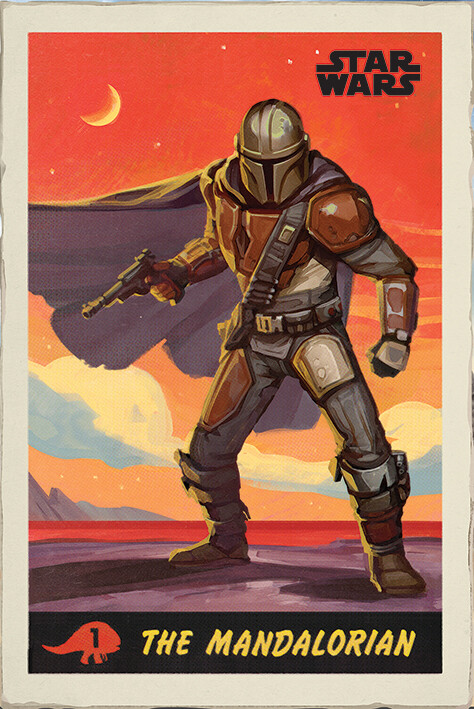 Star Wars: The Mandalorian - Poster Poster