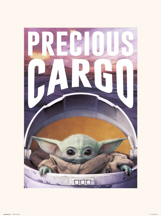 Star Wars: The Mandalorian - Precious Cargo Art Print