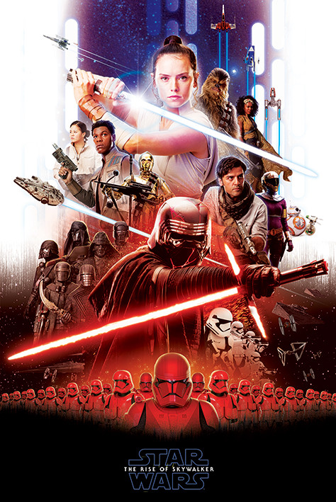 Star Wars The Rise Of Skywalker Epic Poster Sold At Europosters