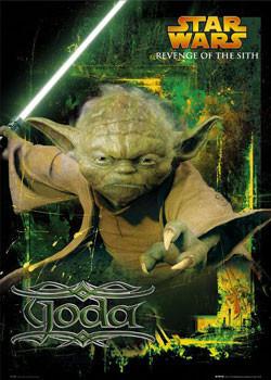 STAR WARS - Yoda Poster, Art Print