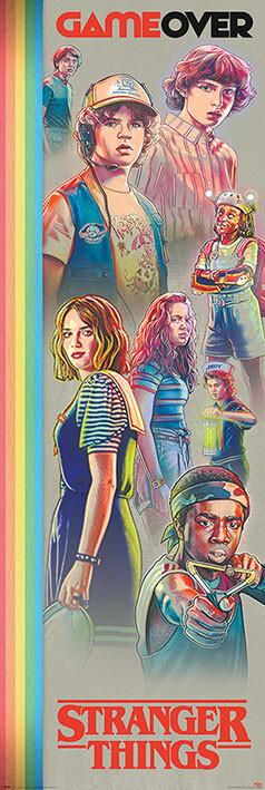 Stranger Things - Game Over Poster