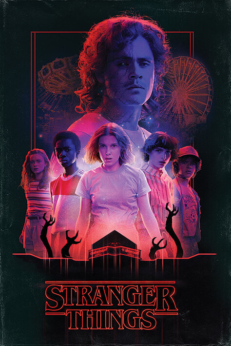 Poster Stranger Things - Horror