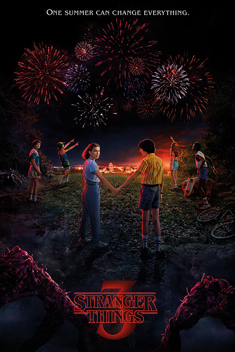 Stranger Things - One Summer Poster