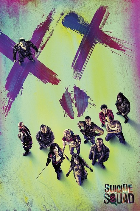 Suicide Squad - Face Poster
