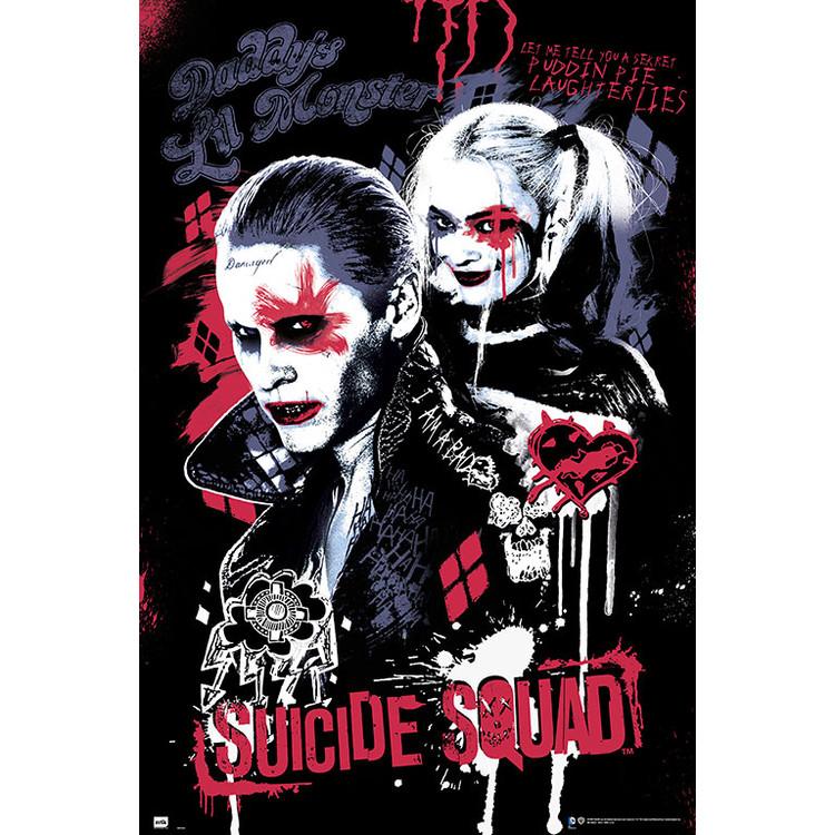 Suicide Squad - Joker & Harley Quinn Poster
