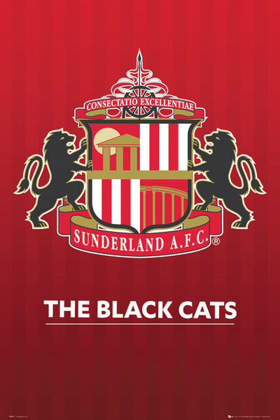 Sunderland Afc Crest Poster Sold At Europosters