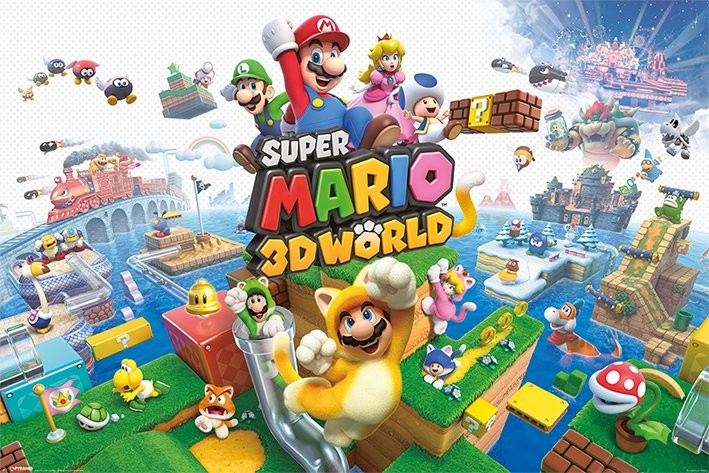 Super Mario - 3D World Poster | Sold at Europosters