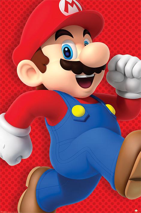 Super Mario - Run Poster