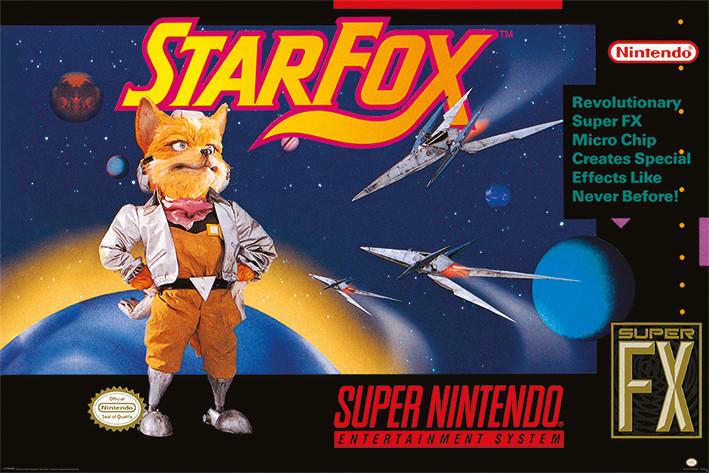 Super Nintendo - Star Fox Poster