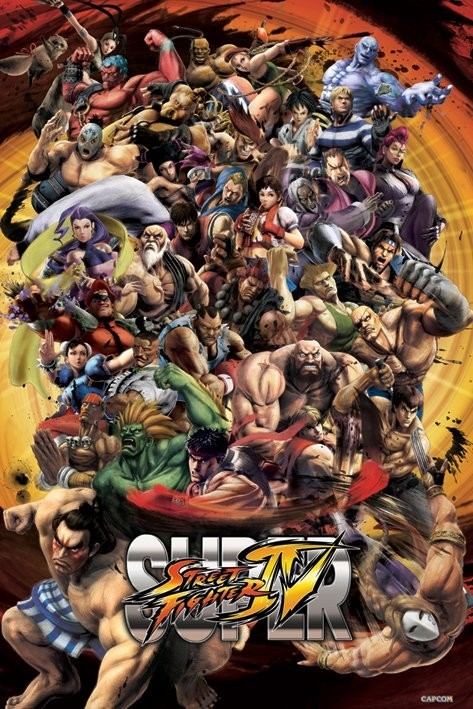 Super street fighter IV.