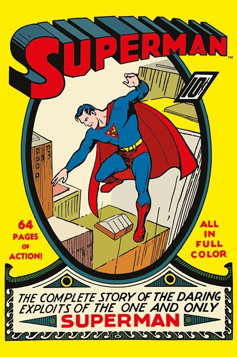 SUPERMAN - no.1 Poster