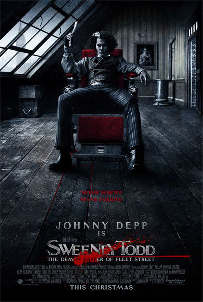 Poster Sweeney Todd - The Demon Barber of Fleet Street