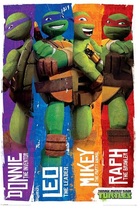 Teenage Mutant Ninja Turtles - Profiles Poster