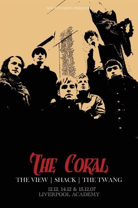 the Coral - tour Poster