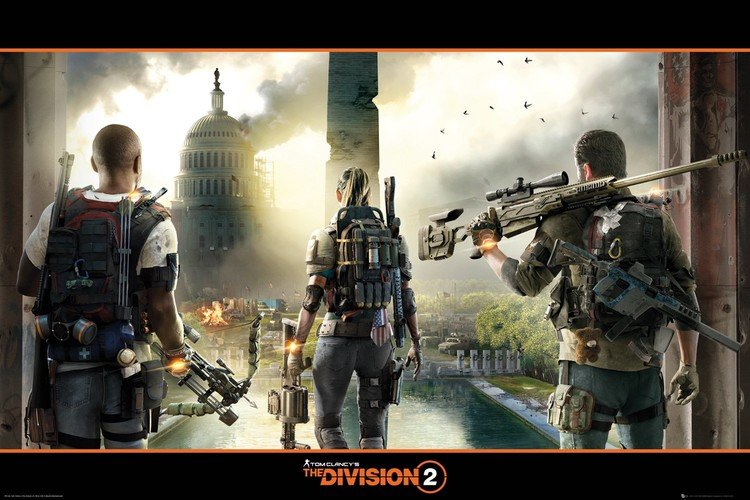 The Division 2 - Landscape Poster