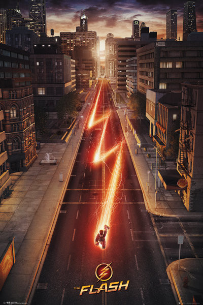 The Flash - One Sheet Poster, Art Print