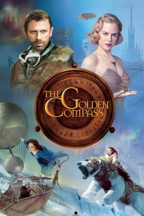 THE GOLDEN COMPASS - cast Poster, Art Print