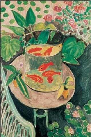 The Goldfish, 1912 Art Print
