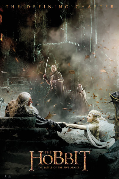 The Hobbit 3: Battle of Five Armies - Aftermath Poster