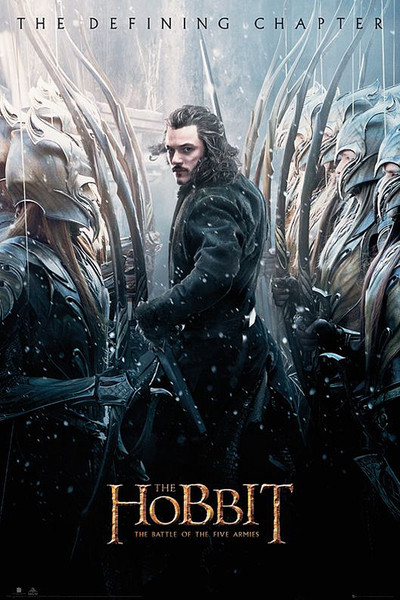 Poster The Hobbit 3: Battle of Five Armies - Luke Evans