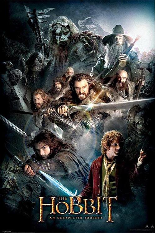 The Hobbit - Dark Montage Poster