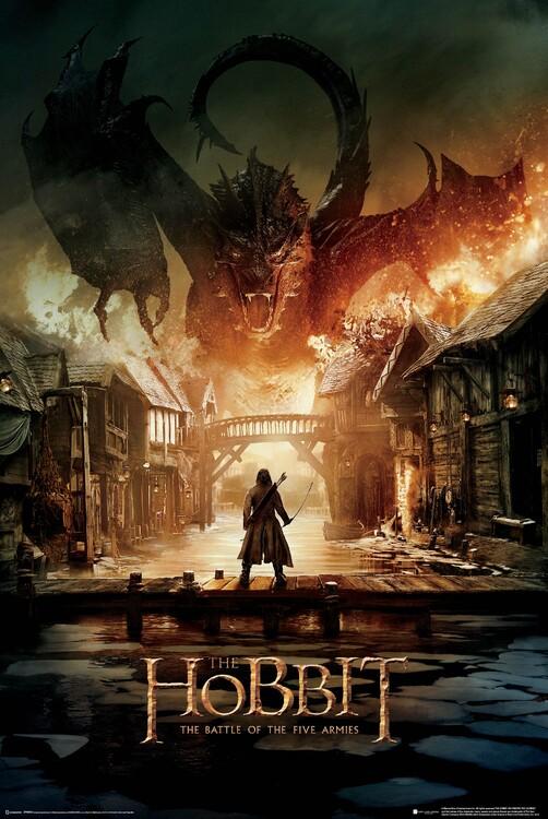 Poster The Hobbit - Smaug