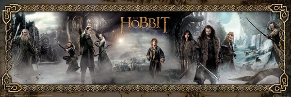 THE HOBBIT: THE DESOLATION OF SMAUG - mist Poster, Art Print