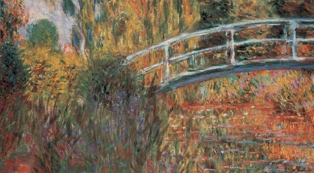 The Japanese Bridge - The Japanese Footbridge, 1899 Art Print