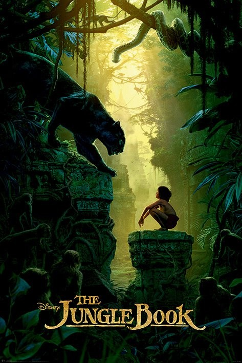The Jungle Book - Bagheera & Mowgli Teaser Poster
