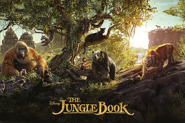 The Jungle Book - Panorama Poster