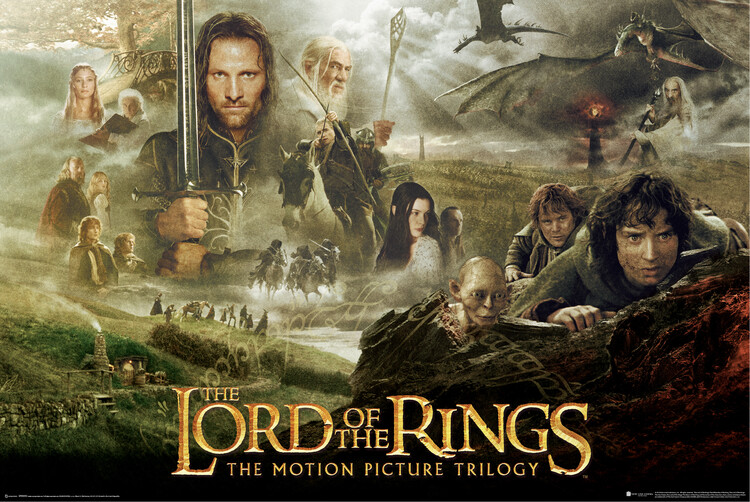 Poster The Lord of the Rings - Trilogy