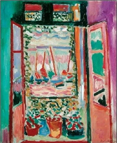 The Open Window, Collioure, 1905 Art Print