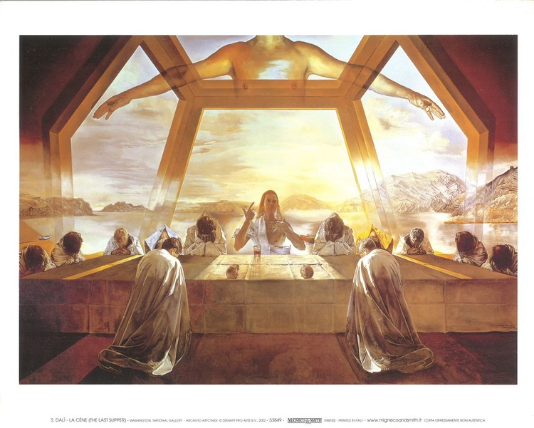 The Sacrament Of The Last Supper 1955 Art Print Buy At Abposterscom