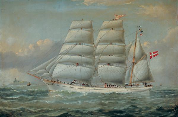 The Ship Claudia Art Print