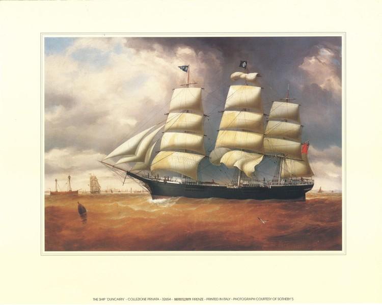 The Ship Duncarin Art Print