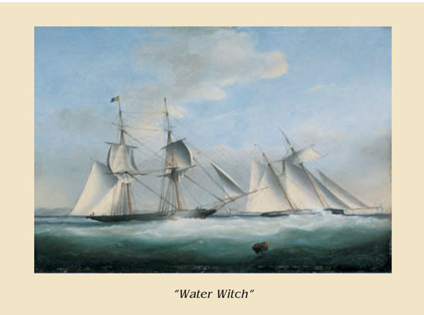 The Ship Water Witch Art Print